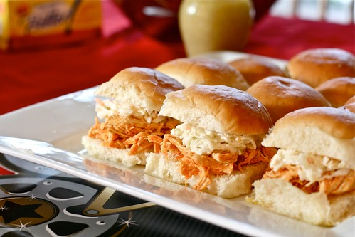 Buffalo Chicken Sliders ICBINB