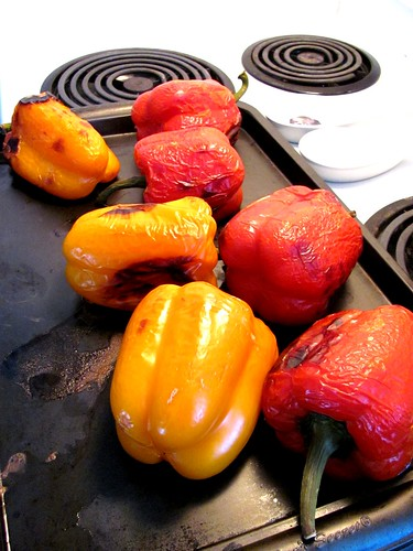 Roasted Red Peppers in Oil