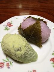 うぐいす餅(4)