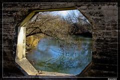 Puente sobre aguas del  Ega