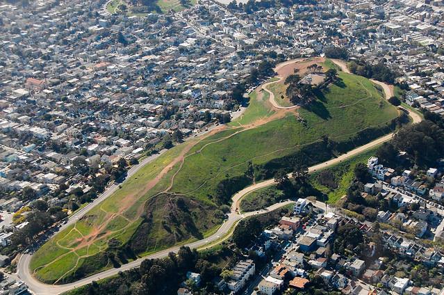 Above Bernal Heights