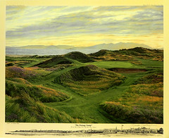 The Postage Stamp, The 8th Hole at Royal Troon Golf Club, Troon, England