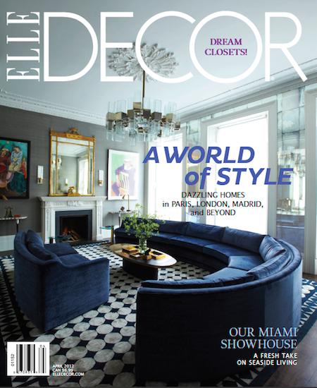 Elle Decor April 2012 Cover