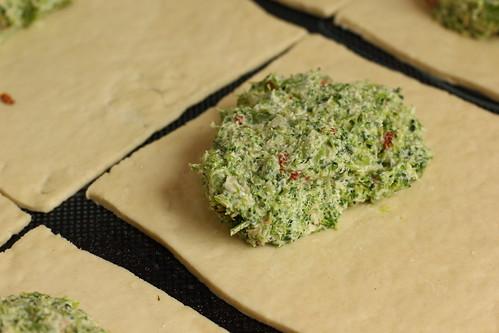 Brokkoli-Quarktaschen