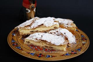 immagini Cheesecake al forno con pasta fillo