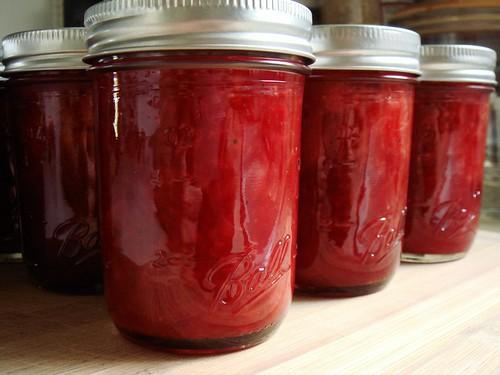 Minty Strawberry Jam