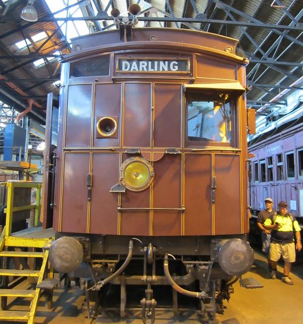 Swing-door train