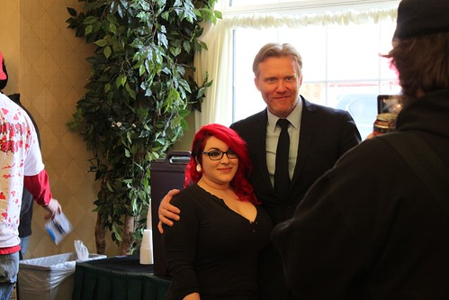 Anthony Michael Hall & Fan