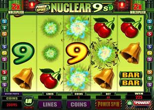 Nuclear 9's Bonus Game