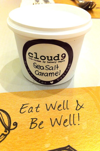 Cloud 9 Sea Salt Caramel Ice Cream
