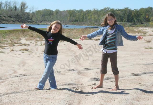 Princesses at the River