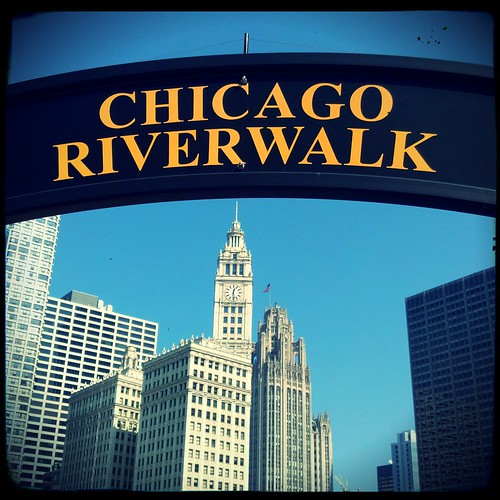 Day 5 - Chicago Riverwalk by Angela&Martin