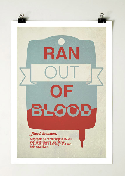 Ran out of blood. - (frame)