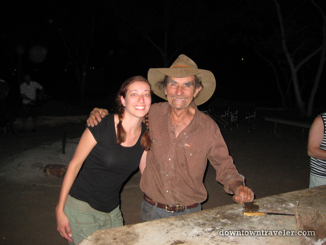 Australian Outback Jimmy Bushtucker Man