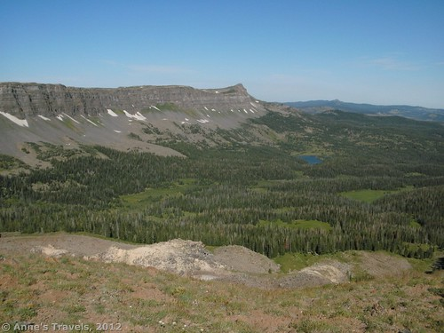 Devil's Causeway Trail, Flat Tops Wilderness Area, Colorado