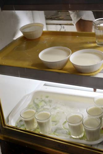 yoghurt stall, fez