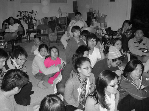bible study asian gathering