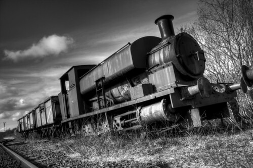 Dunaskin Abandoned Train