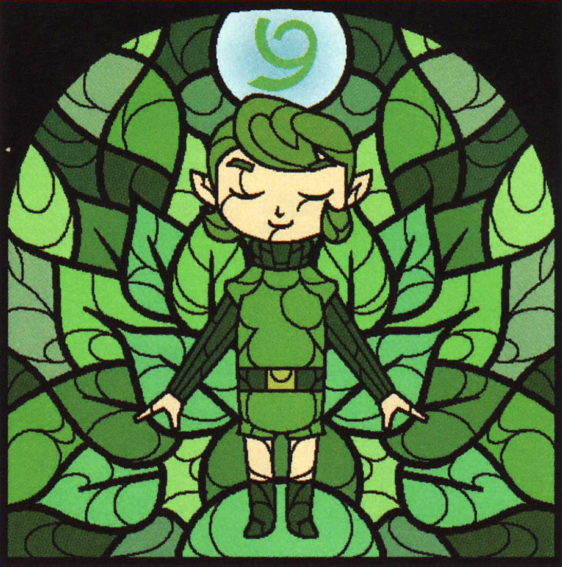 WW Stained Glass Saria