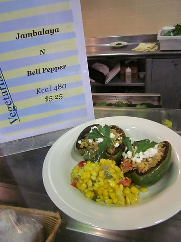 jambalaya-stuffed pepper special