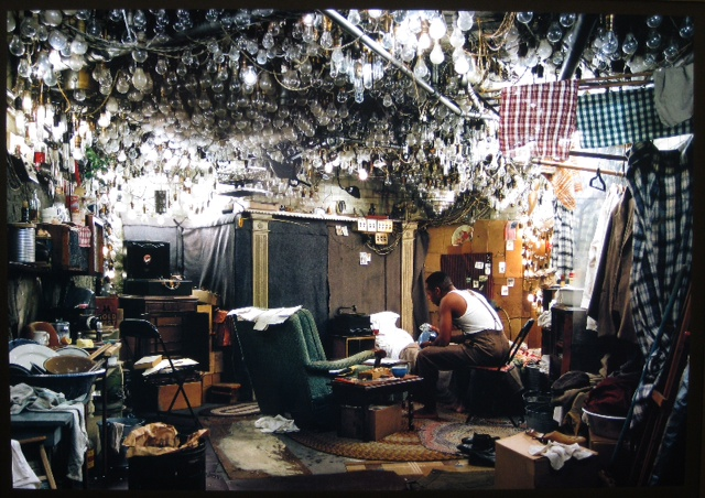 O home invisible. Jeff Wall. CGAC
