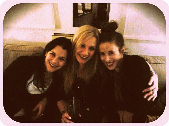 Con Lola y Susana