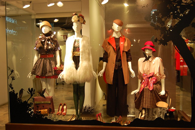 shopping window