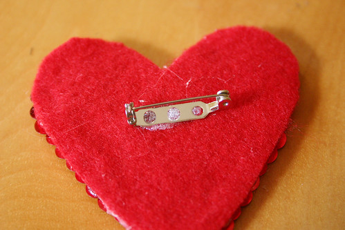 heart pin 9