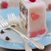 raspberry chocolate chip cake with homemade fondant-vegan and gluten free by Allyson Kramer