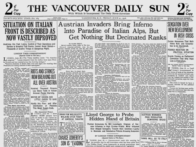 vancouversun1918