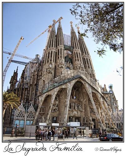 Sagrada Família by Queralt Vegas