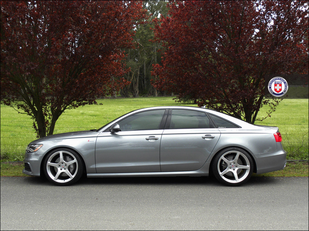 Audi A C On HRE PSC Brushed - Audi a6 forum
