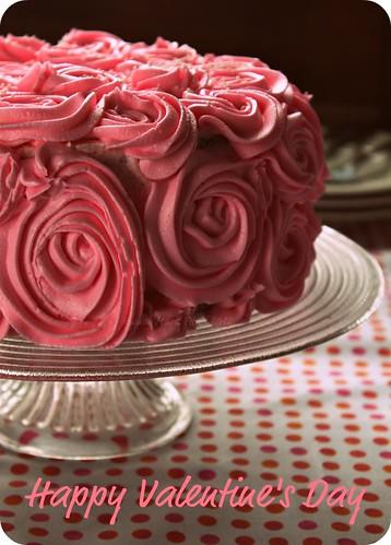 Rosette Buttercream Cake by Fitri D. // Rumah Manis