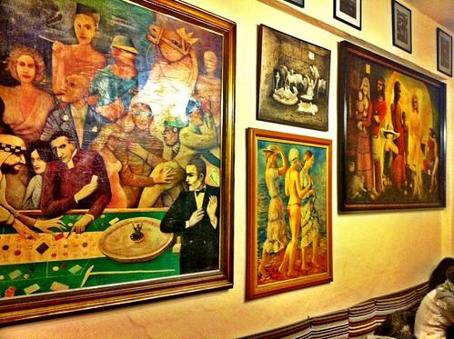 Santa Gertrudis de Fruitera Ibiza | Bar Costa | Cuadros