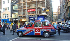 """London's calling"" taxi by Julie70"