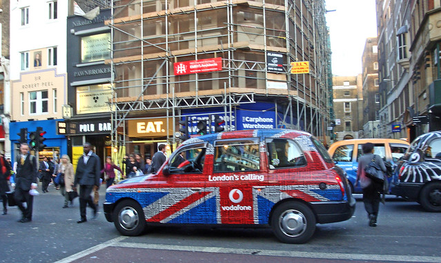 """London's calling"" taxi"