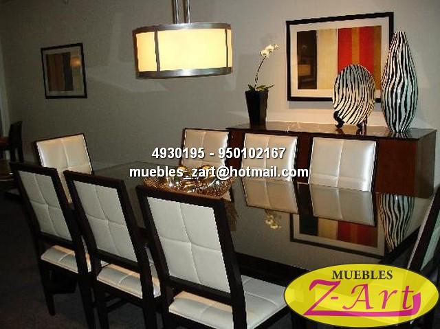 Comedores usados juegos de sala y comedor en muebles for Salas y comedores modernos