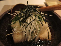 Agedashi Tofu at sushi e