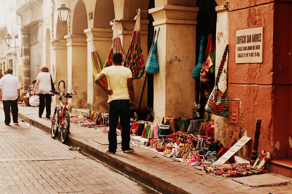 Artesanía en Cartagena de Indias