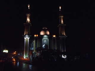 Al Muttaqin Mosque in Early Morning