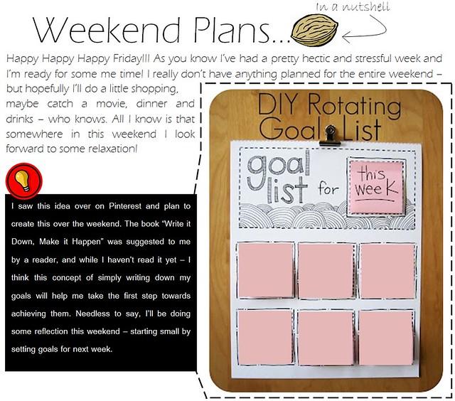 weekend plans 2.17.12