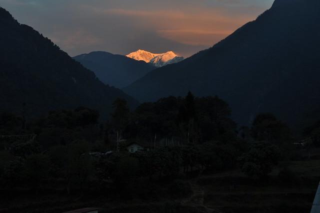 Dawn in Yuksam