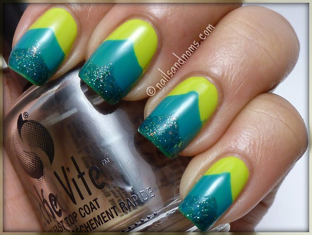 Color Block With OPI & Cult Nails