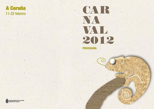 A Coruña 2012 - Entroido - cartel