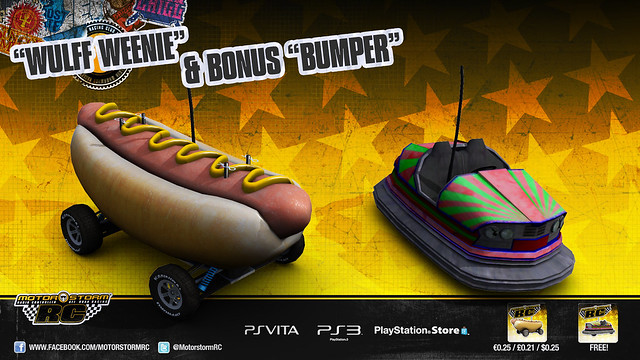 MotorStorm RC: Carnival DLC Special Vehicles