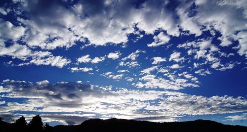 blue sunset sky cloud white mountain sol azul daylight emily day cloudy blanca cielo montaña puesta nube dickinson blinkagain