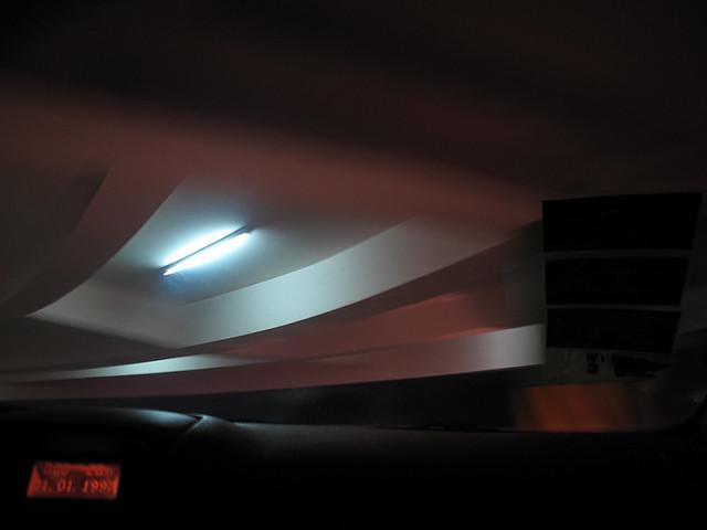 sm parking lot exit