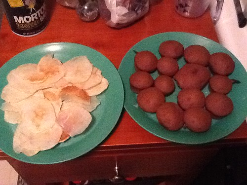Ptw Potato chips and cupcakes, i still need to frost the cupcakes