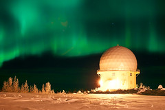 Fort Yukon radar dome