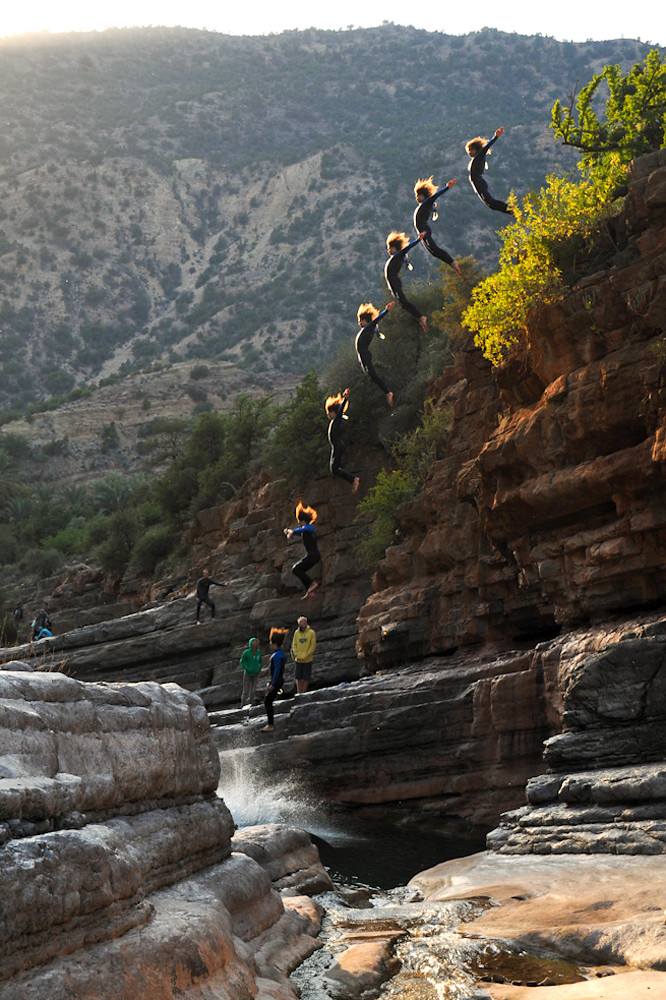 Cliff Jump Sequence
